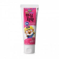 Детская зубная паста со вкусом клубники Pororo Toothpaste For Kids #Strawbeery