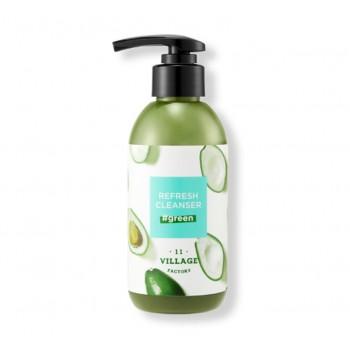 Средство для глубокого очищения кожи с эффектом детокса Village 11 factory Refresh Cleanser Green