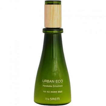 Увлажняющая эмульсия с экстрактом новозеландского льна The Saem Urban Eco Harakeke Emulsion