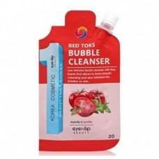 Пенка для умывания EYENLIP RED TOKS BUBBLE CLEANSER