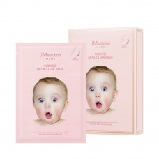 Гипоаллергенная тканевая маска для осветления кожи JMsolution Mama Pureness Mela Clear Mask