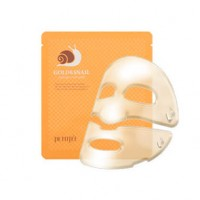 ГИДРОГЕЛЕВАЯ МАСКА ДЛЯ ЛИЦА С МУЦИНОМ УЛИТКИ PETITFEE GOLD & SNAIL HYDROGEL MASK PACK