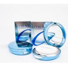 Увлажняющая коллагеновая пудра со сменным блоком Enough Collagen Hydro Moisture Two Way Cake SPF25 PA++