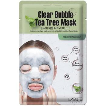 МАСКА КИСЛОРОДНАЯ LABUTE CLEAR BUBBLE TEA TREE MASK