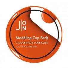 АЛЬГИНАТНАЯ МАСКА ДЛЯ ОЧИЩЕНИЯ И СУЖЕНИЯ ПОР НА ЛИЦЕ J:ON CLEANSING & PORE CARE MODELING PACK