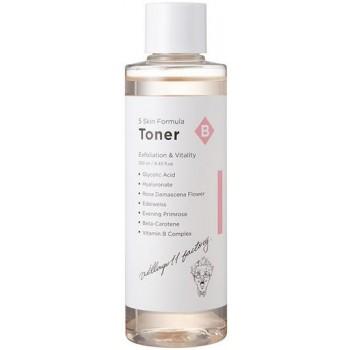 Отшелушивающий увлажняющий тонер Village 11 Factory B Skin Formula Toner