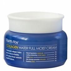 Увлажняющий крем для лица с коллагеном FarmStay Collagen Water Full Moist Cream