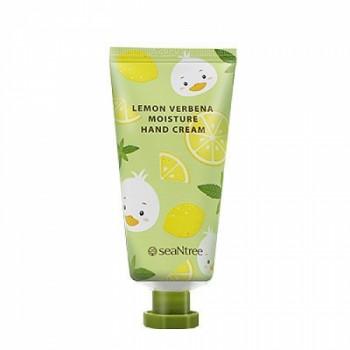 Увлажняющий крем для рук с экстрактом лимона Seantree Lemon Verbena Moisture Hand Cream