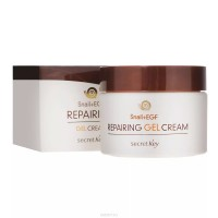 КРЕМ - ГЕЛЬ ДЛЯ ЛИЦА С МУЦИНОМ УЛИТКИ SECRET KEY SNAIL REPAIRING GEL CREAM