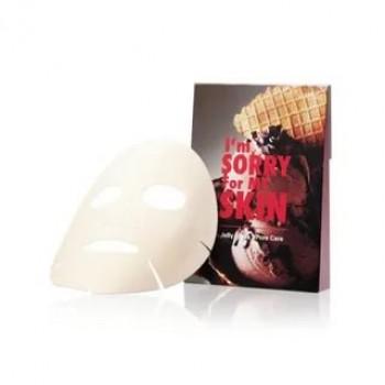 Тканевая маска для сужения пор I'm Sorry For My Skin Jelly Mask- Pore Care (мороженое)
